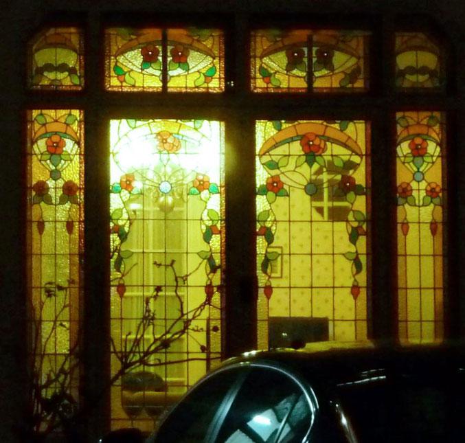 vitraux, boulevard Matabiau, quartier Chalets Toulouse