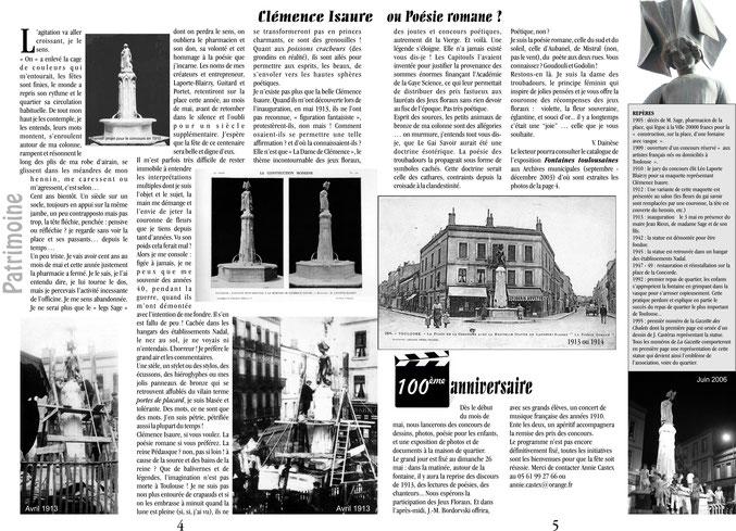 Gazette n°73 - Printemps 2013