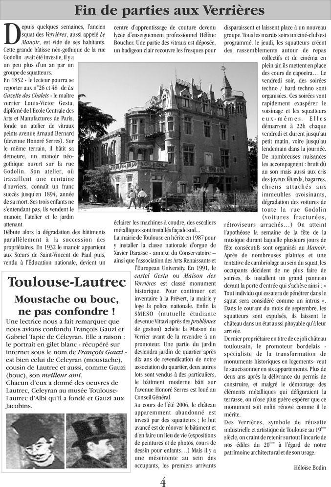 Gazette des Chalets n°51 (2007)