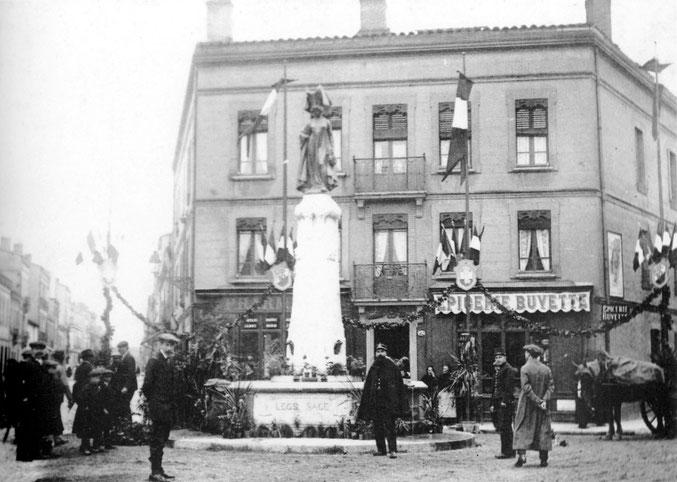 Avant l'inauguration en 1913