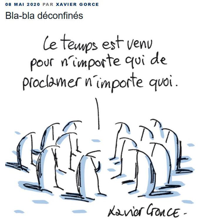 Le Monde, 8 mai 2020.