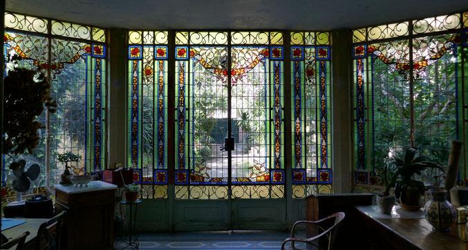 vitraux, rue Claire Pauilhac, quartier Chalets Toulouse