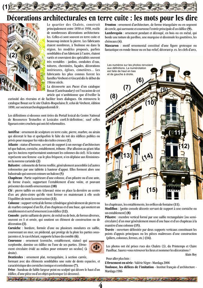 Extrait de la Gazette des Chalets n°91 - page 4
