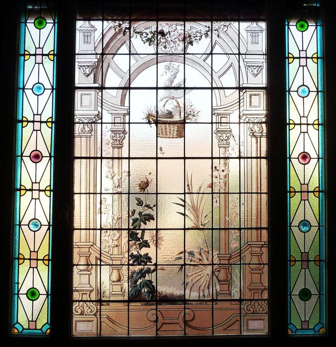 vitraux, quartier Chalets Toulouse