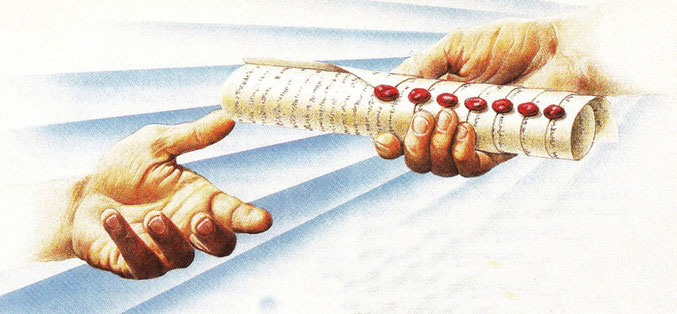 Dieu a confié tout pouvoir à Jésus, l'auteur du livre de l'Apocalypse (Ap 1 :1) et c'est lui qui décrit en détail la succession des différents évènements du temps de la fin. C'est Jésus qui va régner sur la terre en tant que Roi du Royaume céleste de Dieu