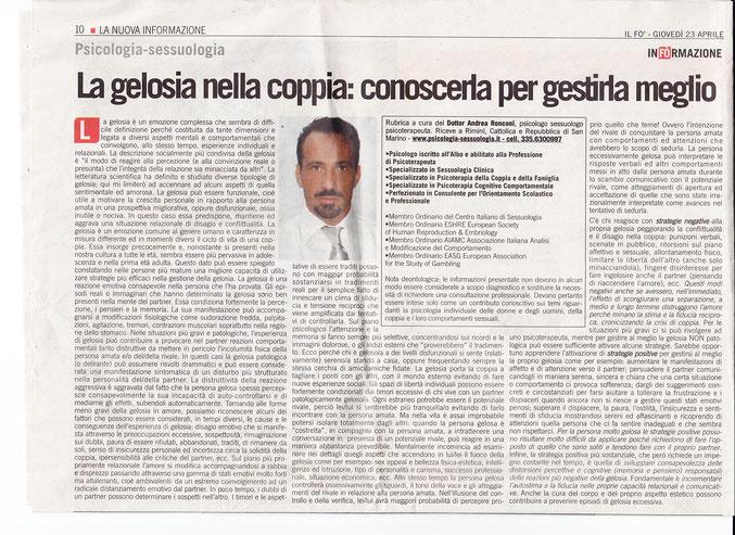 Gelosia nella coppia: terapia di coppia Milano, Rimini, Firenze, Torino