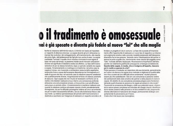Psicologo Psicoterapeuta Rimini, Riccione, Forli-cesena, Faenza, Dr.Andrea Ronconi-2006