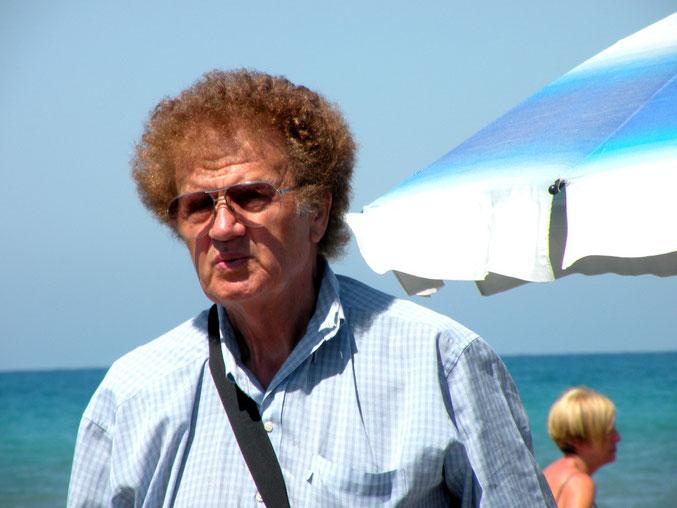 Atze Schröders Vater, im Urlaub am Strand getroffen