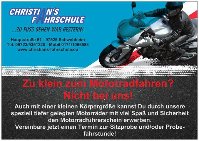 Kleiner Motorradführerschein