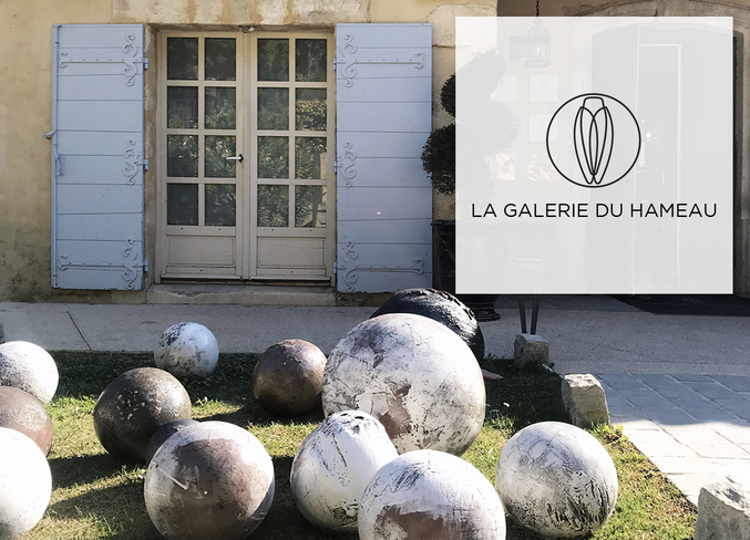 Art is everywhere at Hameau des Baux