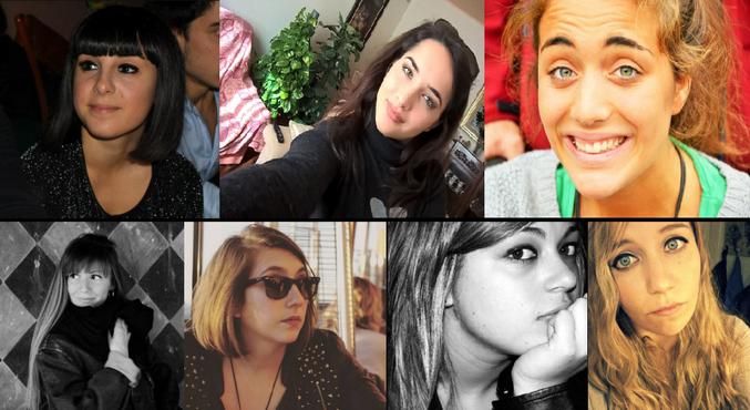 Vittime italiane di Barcellona: Valentina Gallo, Elena Maestrini, Francesca Bonello, Serena Saracino, Elisa Scarascia, Lucrezia Borghi, Elisa Valent