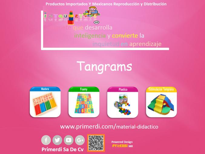 tangrams material didactico