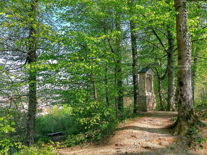 Der Kreuzweg zur Sparzer Kapelle
