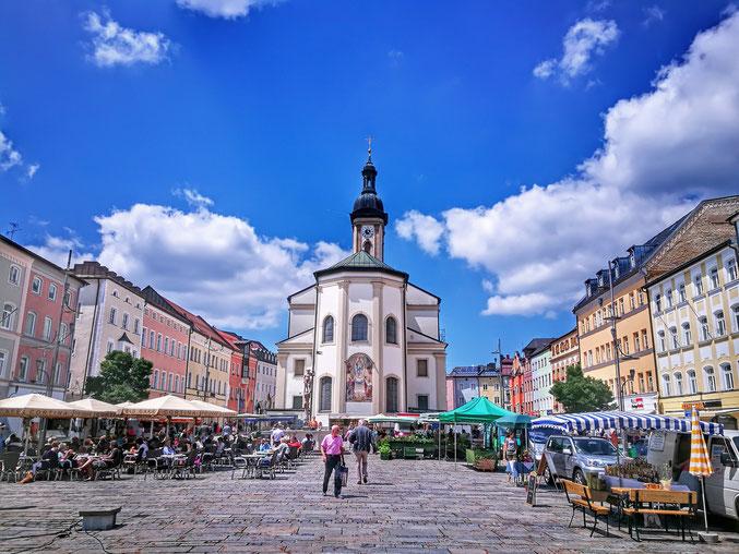Stadtplatz Traunstein