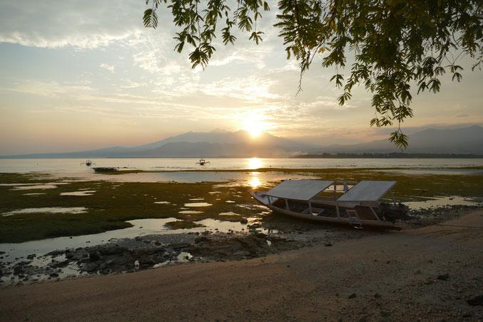 Sonnenaufgang auf Gili Air