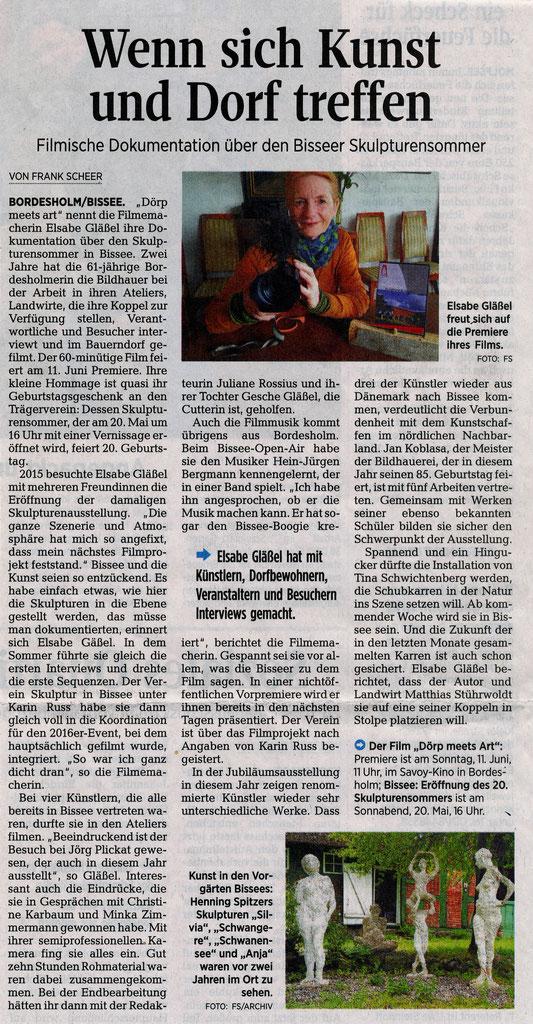 Kieler Nachrichten Mai 2017