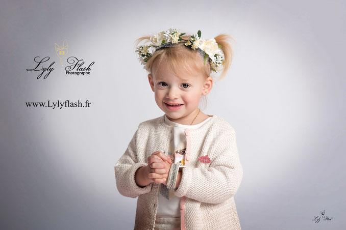 photographe enfant fille var