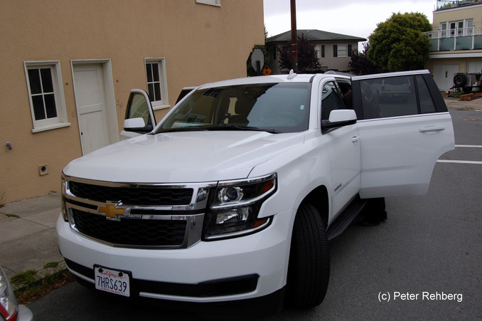 Chevrolet Tahoe, San Francisco, Peter Rehberg