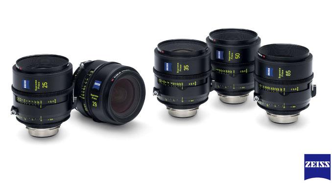 Puhlmann Cine - ZEISS Supreme Prime Lenses