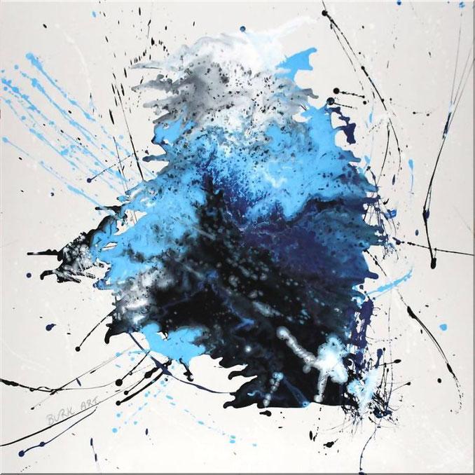 acrylbild modern splash art