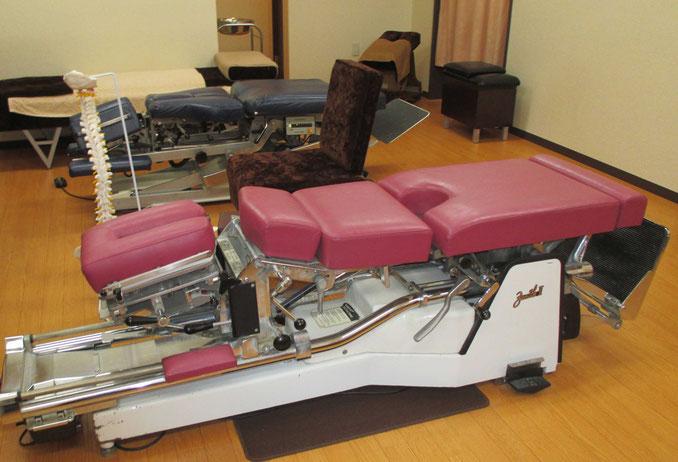 やまだカイロプラクティック院・鍼灸院の治療室