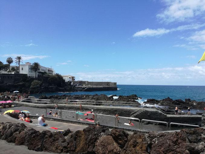 Wenige Minuten entfernt der San Telmo Strand
