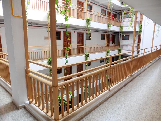 Zugang zu dem Apartment