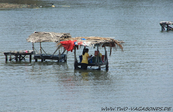 WASCHFRAU IM NICARAGUA-SEE