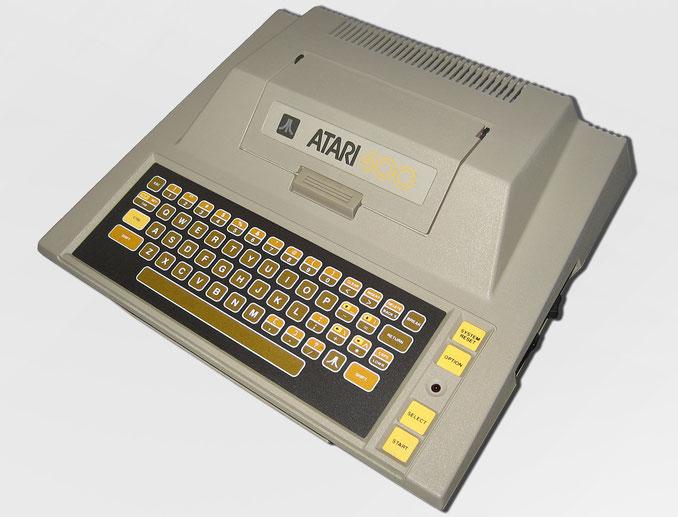 Atari 8 bit computer