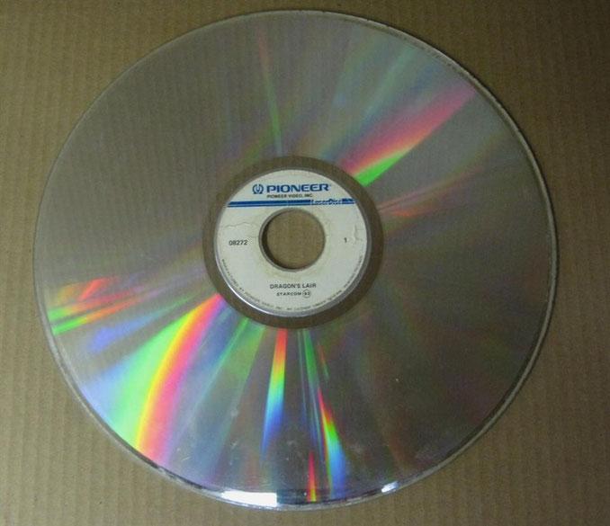 Dragon's Lair Laser disc
