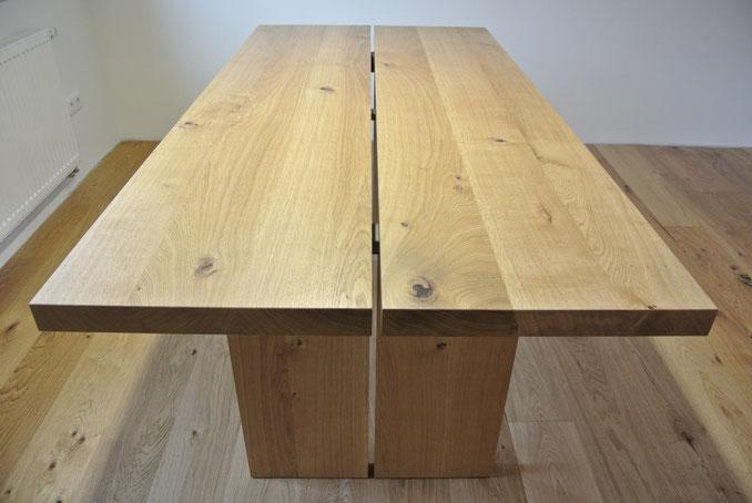 Tisch, Massivholz, Schreiner, Köln, Möbel