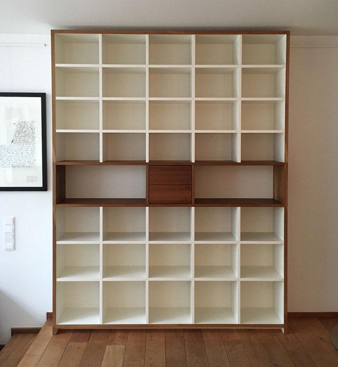 Bücherregal, Holz, Kupfer, Möbel, Köln