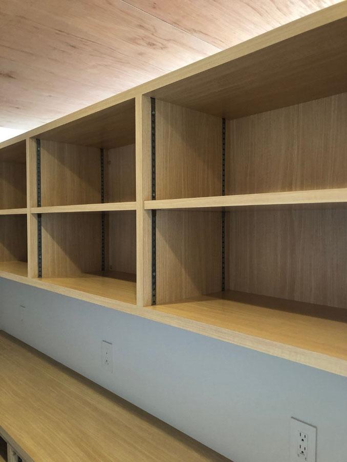オーダー家具 オープン棚 飾棚