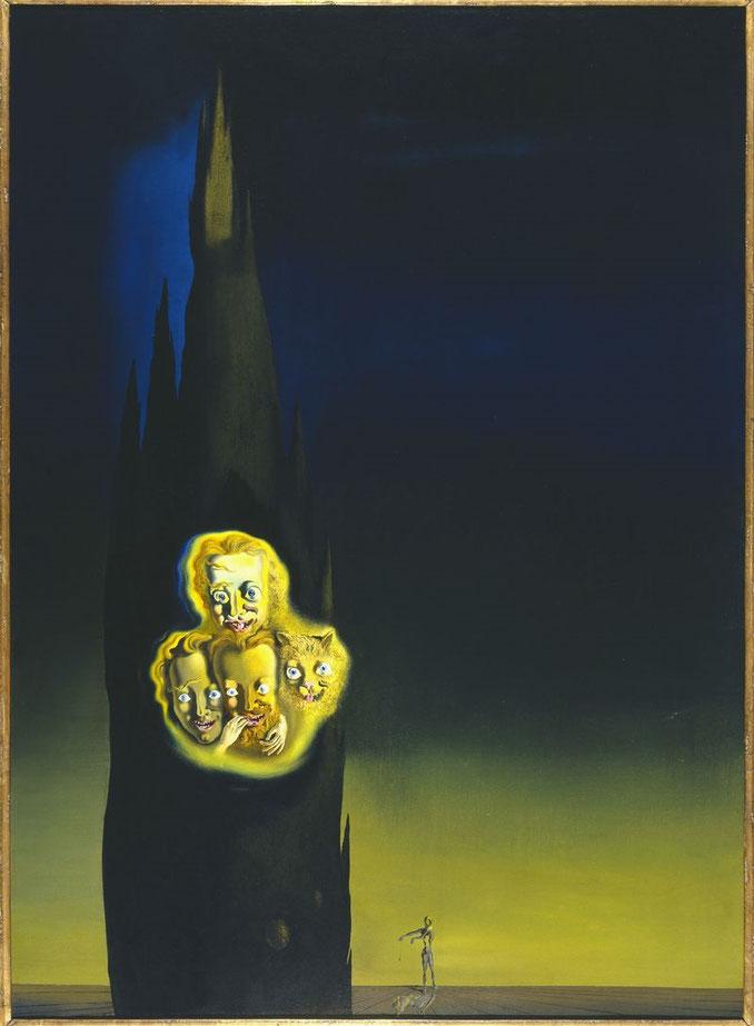 Свечение Лапорта - картины Сальвадора Дали
