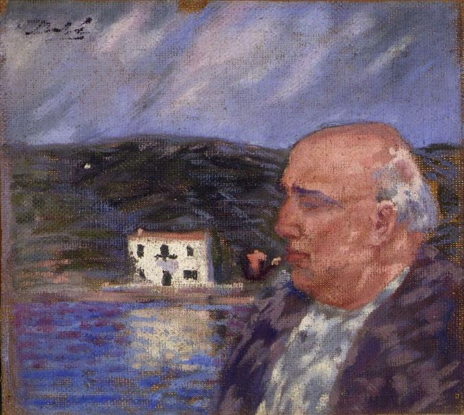 Портрет отца и дом в Эс Льяне