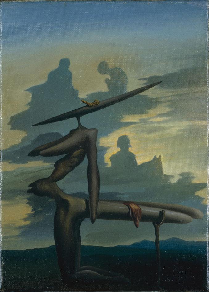 Призрак Анжелюса - картина Сальвадора Дали