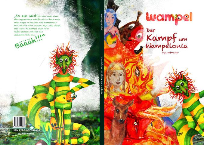 Geschenke für Kinder, Weihnachtsgeschneke für Kinder, Pädagogische Geschenke für Kinder, Kinderbücher, Wampel, Der Kampf um Wampelonia, Wampel.net