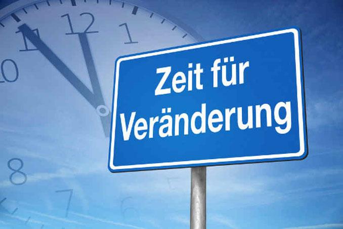 Zeit für Veränderung Hypnose Bern