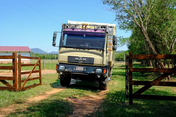 Pepamobil unterwegs in Paraguay