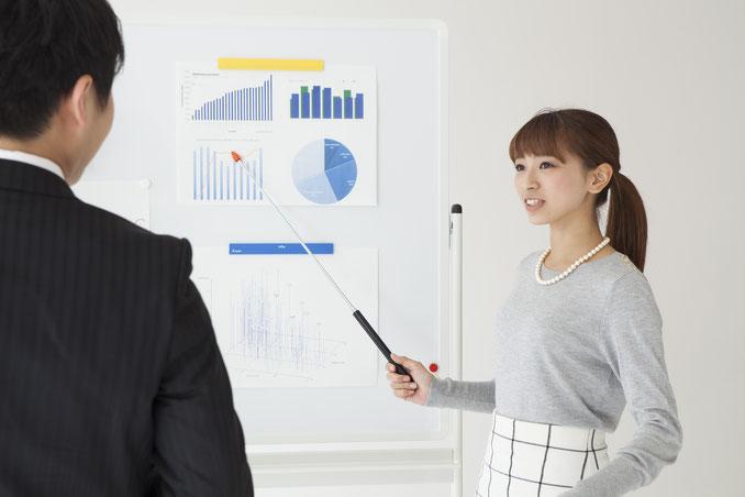 中小企業の強みについて分析したイメージ