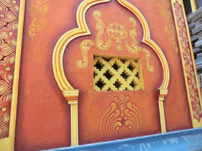 Hindu-Tempel. Kerala. Südindien.