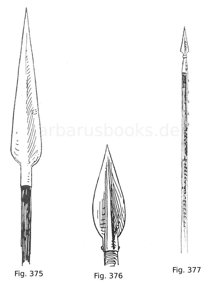 Fig. 375. Großes Schefflineisen, innen hohl gebildet. Anfang 16. Jahrhundert.
