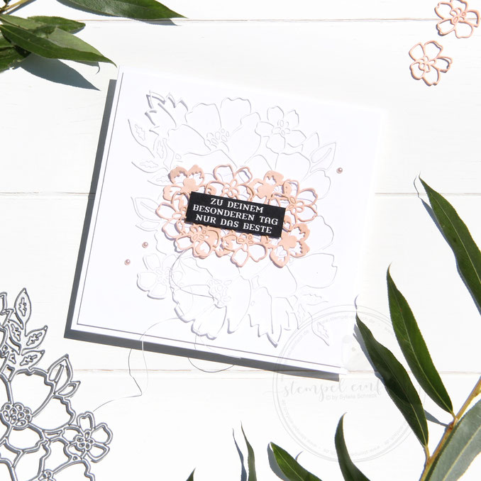 Blumengruss-sylwia schreck for stampin up