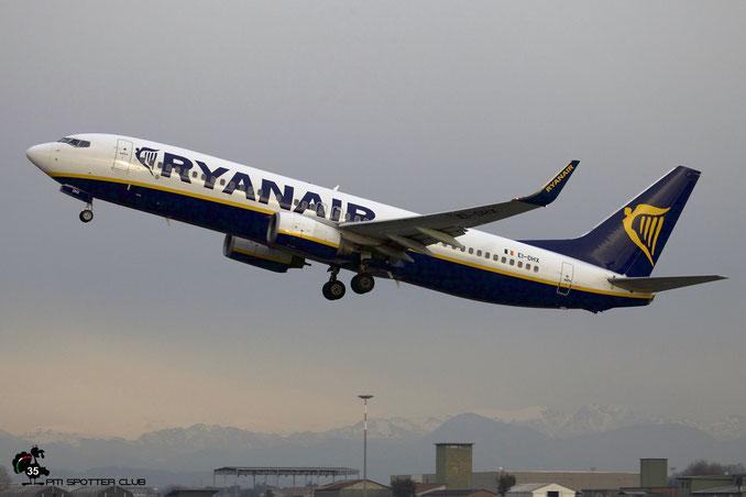 EI-DHX B737-8AS 33585/1824 Ryanair @ Aeroporto di Verona 30.12.2017  © Piti Spotter Club Verona