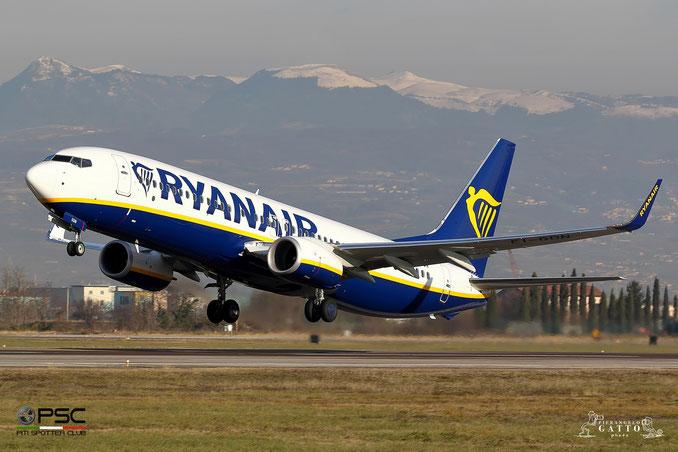 EI-GDN B737-800 44807/6673 Ryanair @ Aeroporto di Verona 01.01.2018  © Piti Spotter Club Verona