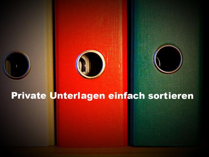 Private Unterlagen - Papierkram sortieren: Schluss mit dem Papierchaos