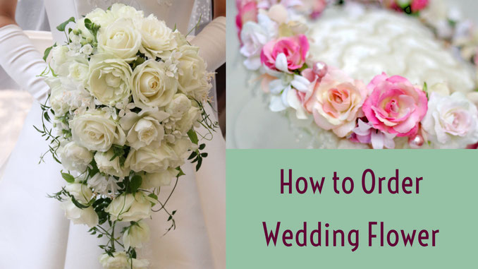 How to order Weddingbouquet