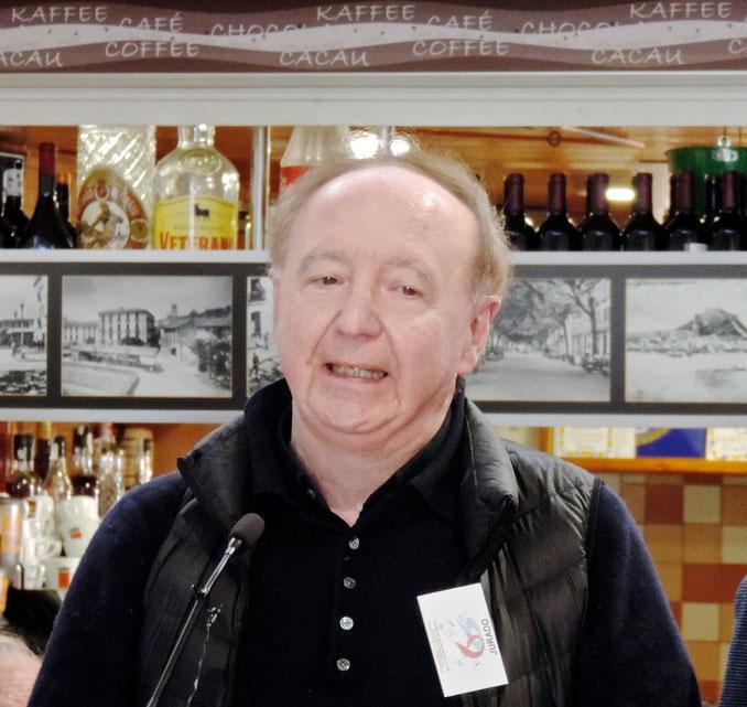 José Carlos Capel en Dénia, durante una visita al Concurso Internacional de Cocina Creativa de la Gamba de Dénia