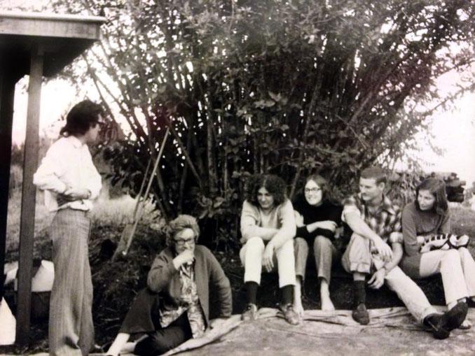 Donald Greenfield, Ena Lemon, Christine Shipway, Rada Rouse, Tony & Maria Oakhill, 1972