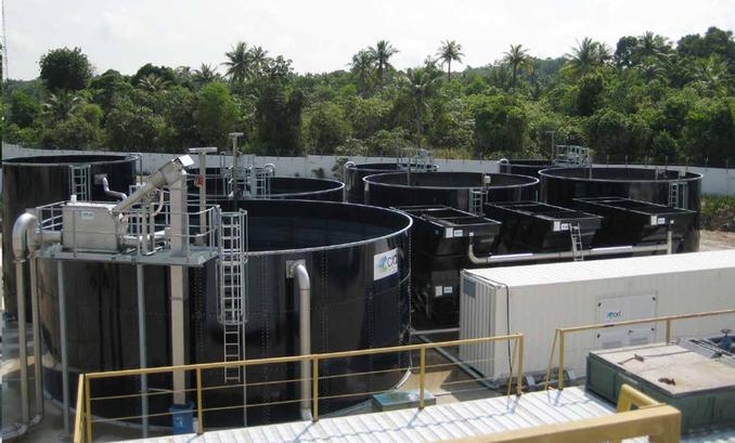 Tanques de acero - tratamientos de agua